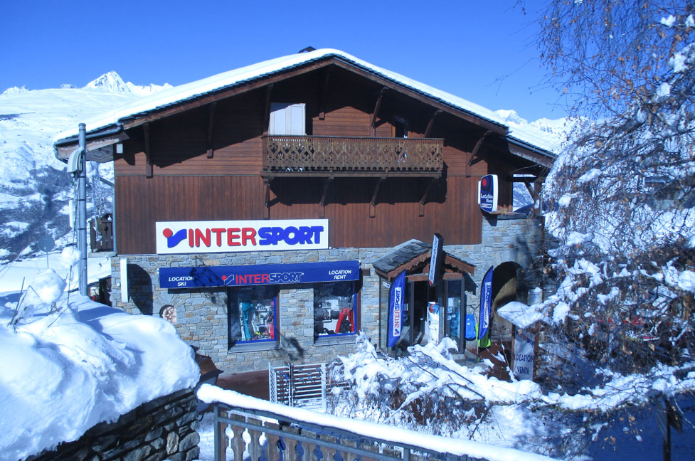 INTERSPORT SHOP PLAGNE Les Coches Ski Rental